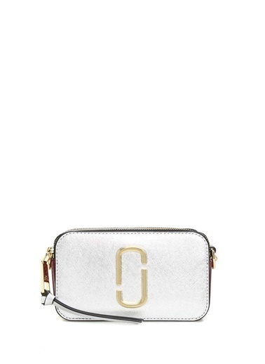Marc Jacobs Marc Jacobs Snapshot  Kadın Deri Omuz Çantası 101547853 Gümüş